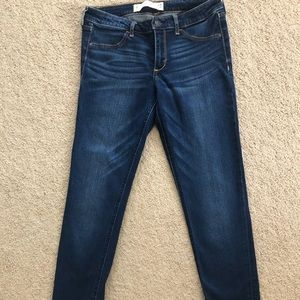 ABERCROMBIE AND FITCH dark jeans W28 L31 size 6L